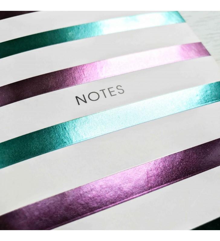 "Мини-блокнот в клеточку ""Notes"" stripes"