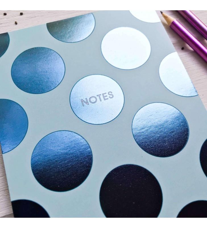 "Мини-скетчбук ""Notes"" голубой"