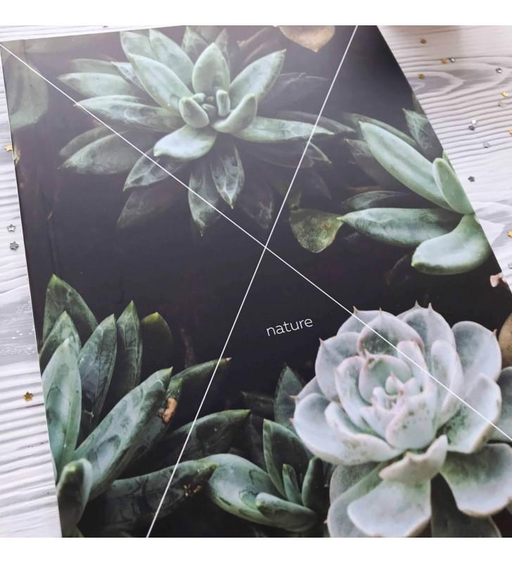 """Скетчбук """"Nature"""" succulent"""