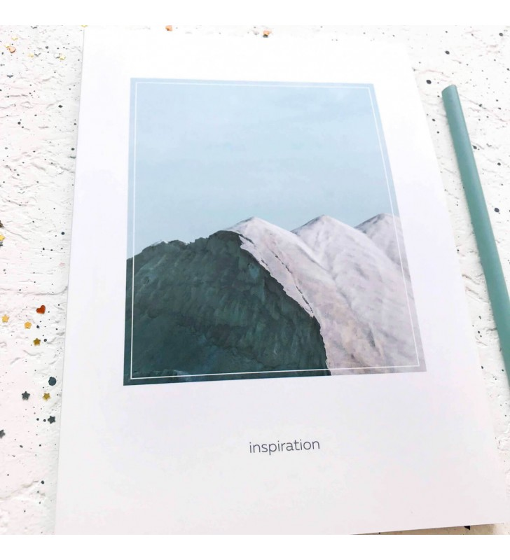 "Скетчбук ""Inspiration"" mountains"