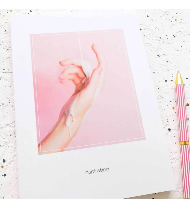 "Скетчбук ""Inspiration"" hand"