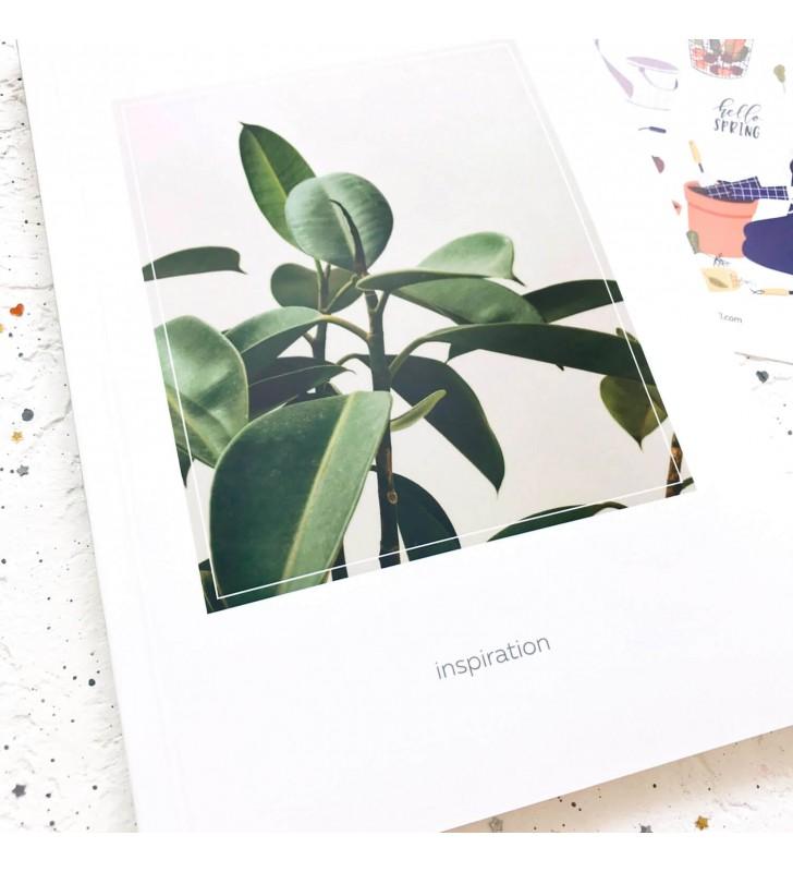 "Скетчбук ""Inspiration"" plant"