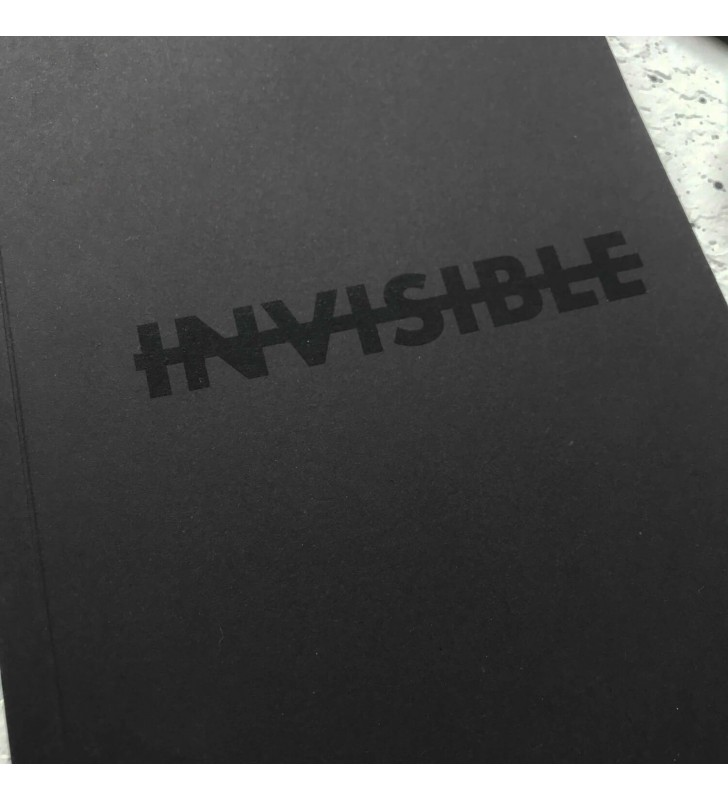 """Блокнот в точку """"Invisible"""""""