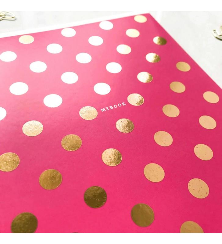 """Блокнот в линию """"Pink dots"""""""