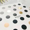 """Блокнот в линию """"Gold dots"""""""