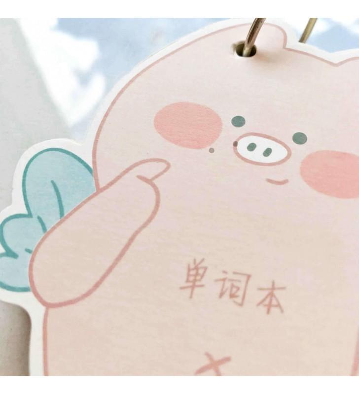 """Мини-блокнот на кольце """"Piggi"""" 1"""