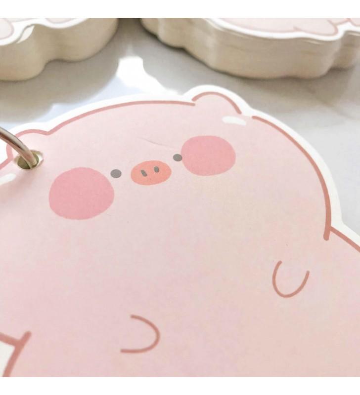 """Мини-блокнот на кольце """"Piggi"""" 4"""