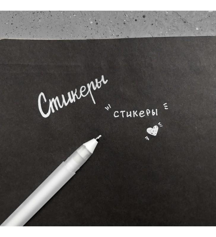 """Мини-блокнот """"Crescent"""" с черными страницами"""