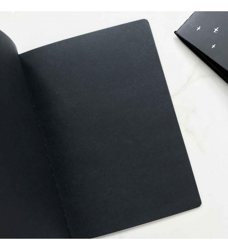 """Блокнот """"Arrow"""" с черными страницами"""