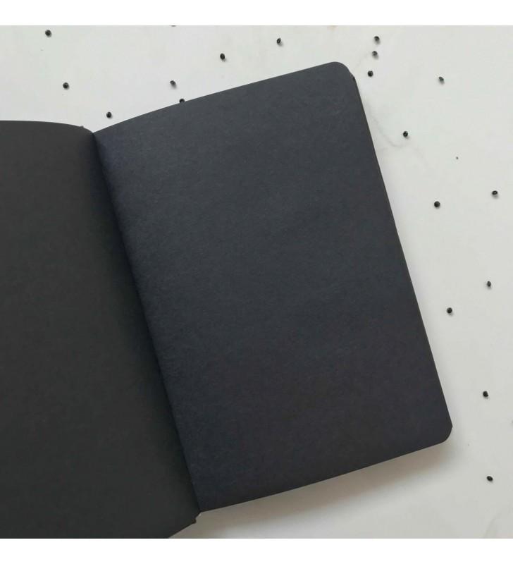 """Блокнот """"Simple"""" have a nice day с черными страницами"""