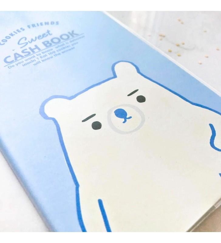 """Cash Book """"Sweet"""" blue"""
