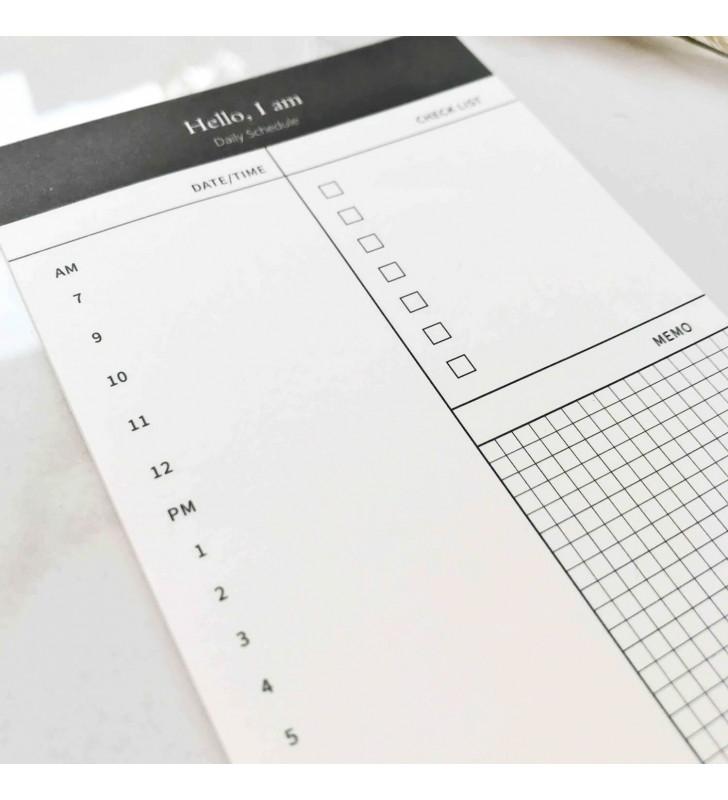 """Настольный планер """"Simple schedule"""""""