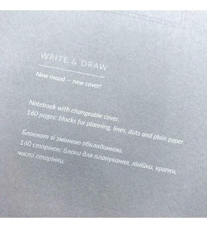 "Блокнот ""Write & Draw"" Мисля"