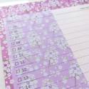 "Настольный планер ""Daily"" pink flowers"