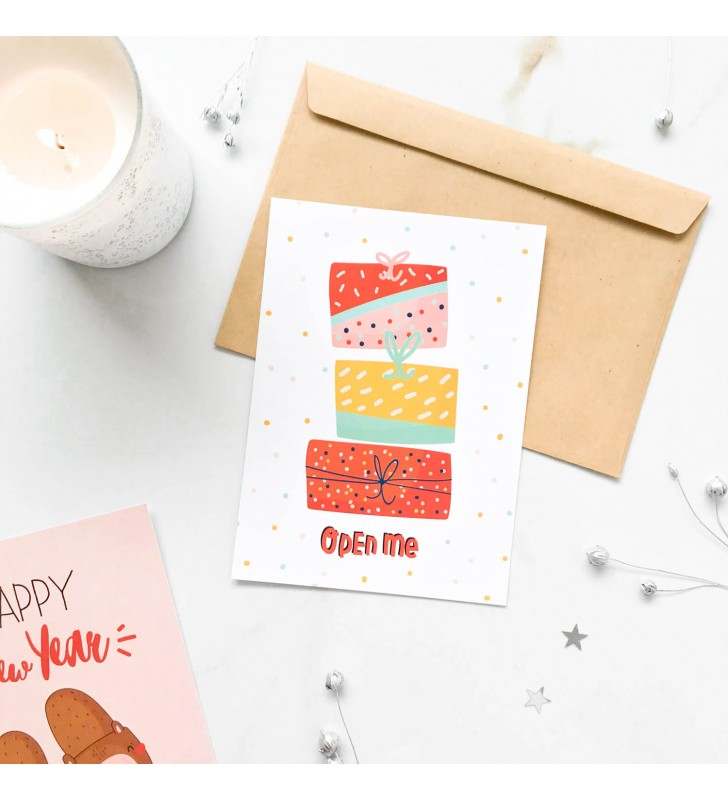 "Открытка ""Cutie winter"" Presents"