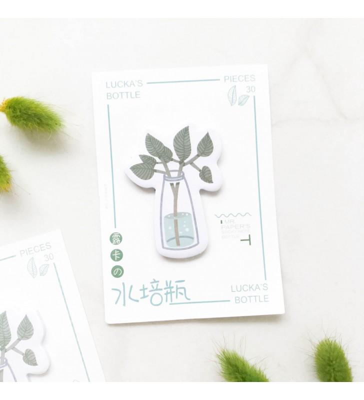 """Стикеры """"Растение в бутылке"""""""