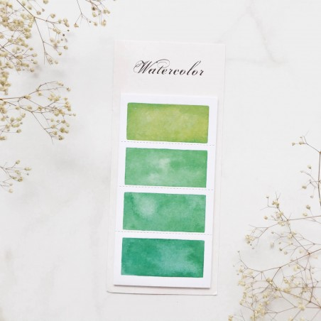 "Стикеры ""Color palette"" Green"