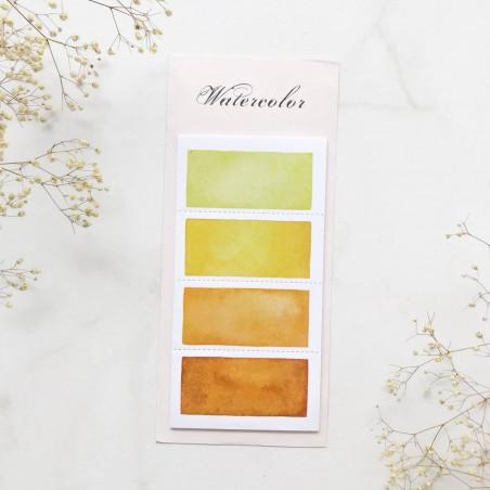 "Стикеры ""Color palette"" Yellow"