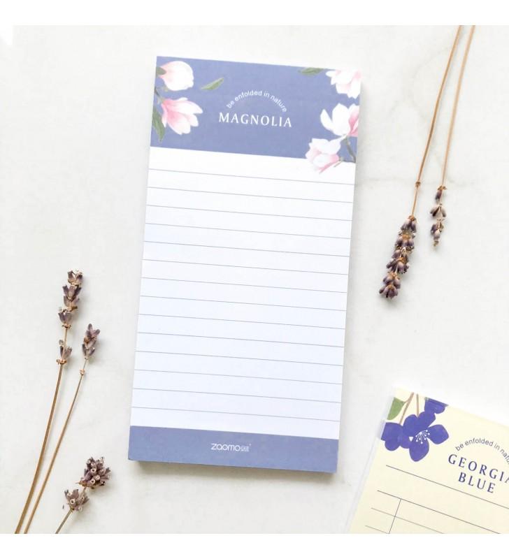 "Блокнот для заметок ""Plants"" magnolia"