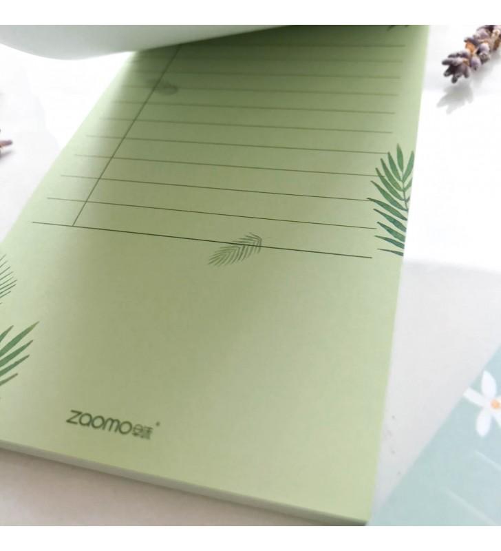"""Блокнот для заметок """"Plants"""" areca palm"""
