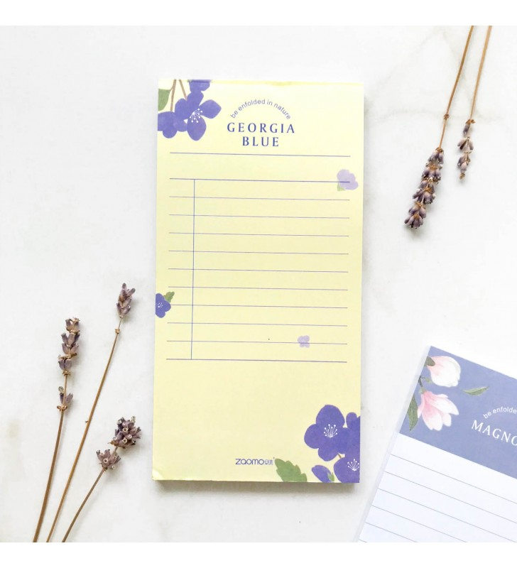"Блокнот для заметок ""Plants"" georgia blue"
