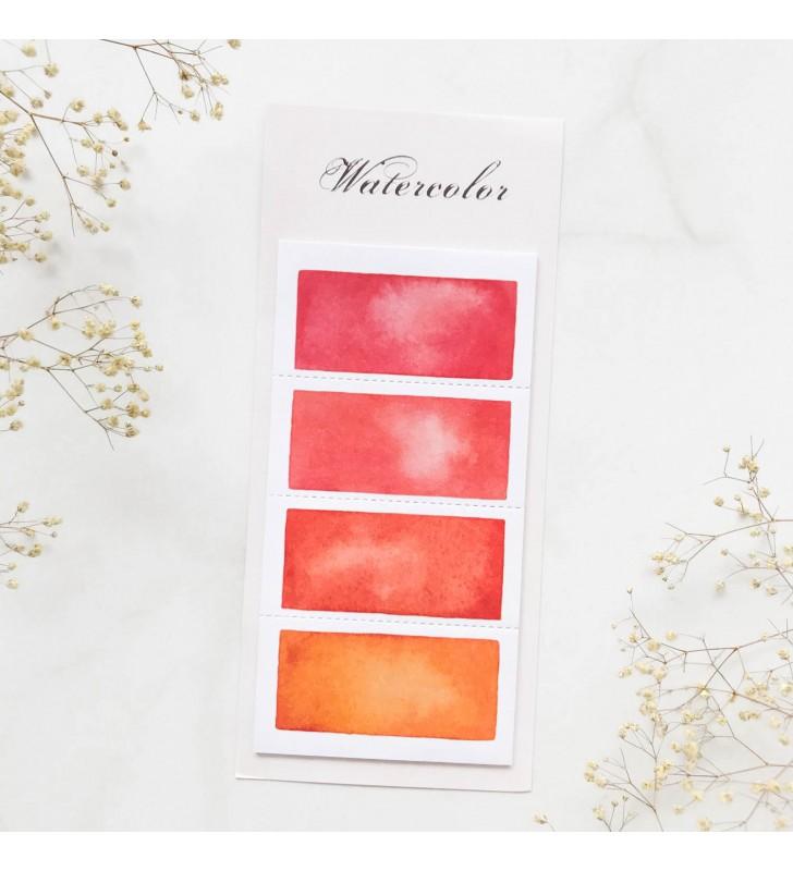 "Стикеры ""Color palette"" Red"