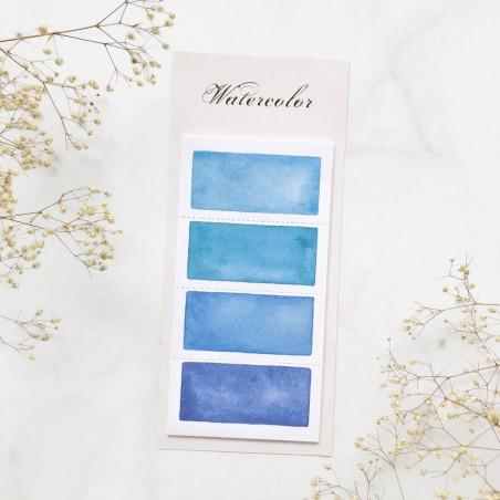 """Стикеры """"Color palette"""" Blue 1"""