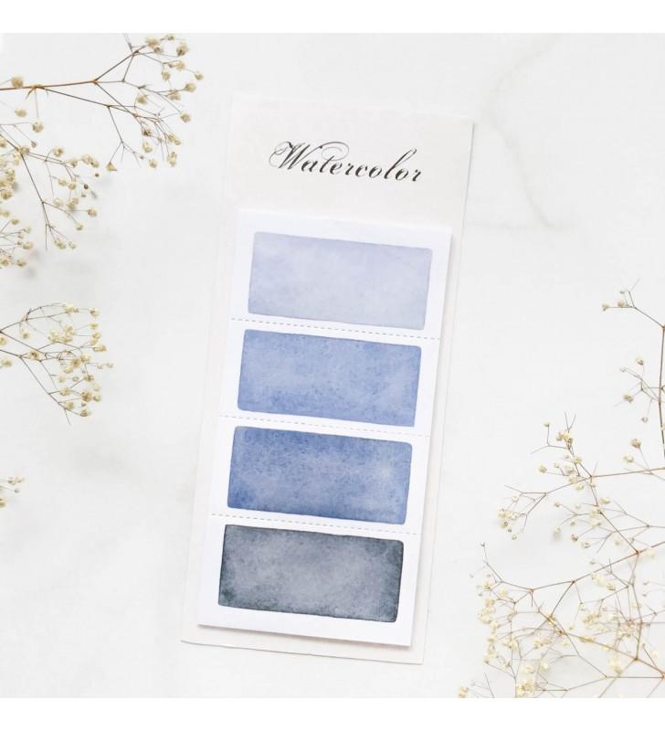 """Стикеры """"Color palette"""" Blue 3"""