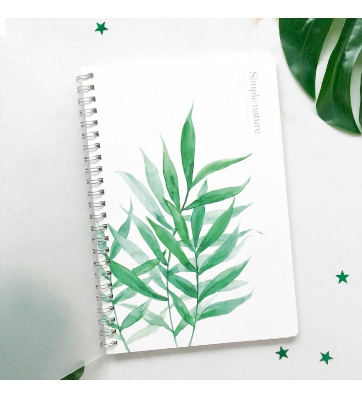 "Блокнот в линию ""Simple nature"" бамбук"