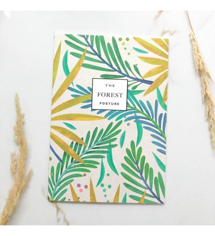 """Блокнот в линию """"The forest"""" желтые веточки"""