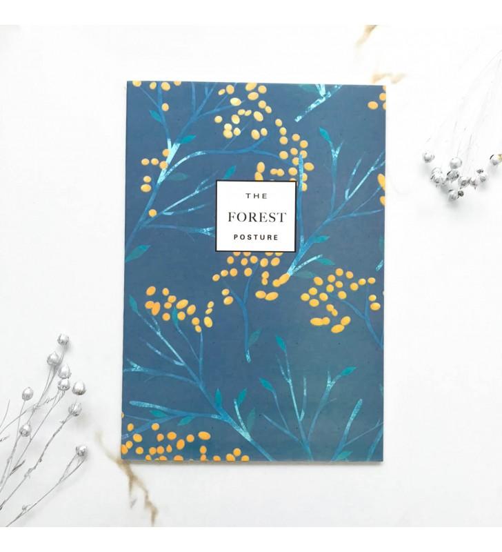 """Блокнот в линию """"The forest"""" желтые ягодки"""