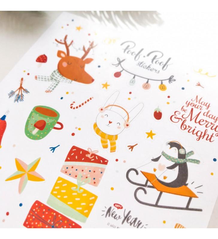 """Наклейки """"Cutie winter"""" Penguin"""