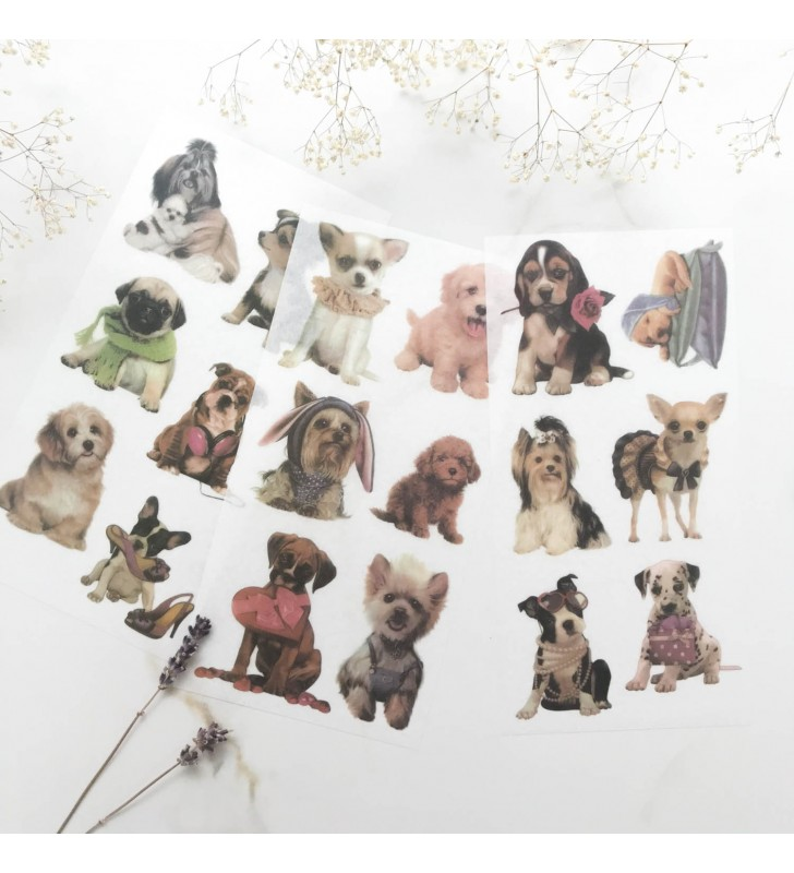 "Набор наклеек ""Cutie dogs"""