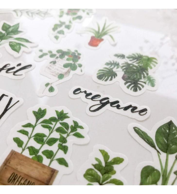 """Набор наклеек """"Organic"""""""