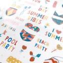 "Наклейки ""Summer vibes"""