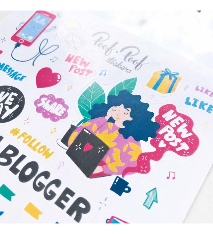 "Наклейки ""Blogger"""