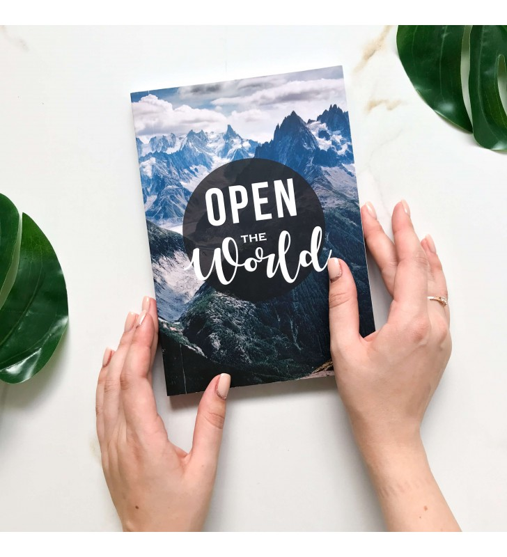 """Недельный планер """"Open the world"""""""