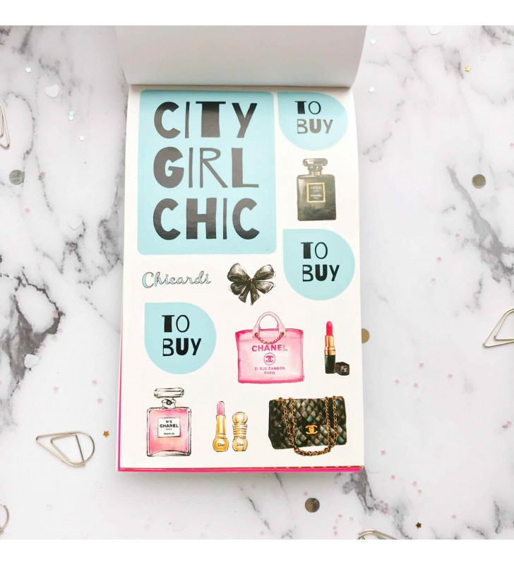 "Стикербук ""City girl chic"""