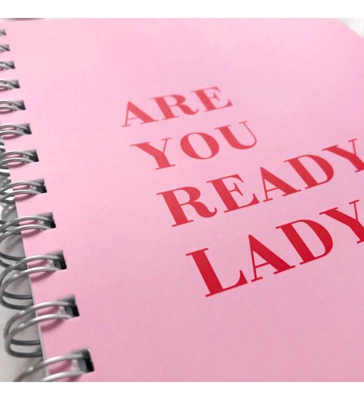 """Недельный планер """"Are you ready, lady?"""""""