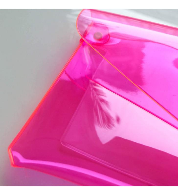 "Пенал ""Stylish"" розовый неон"