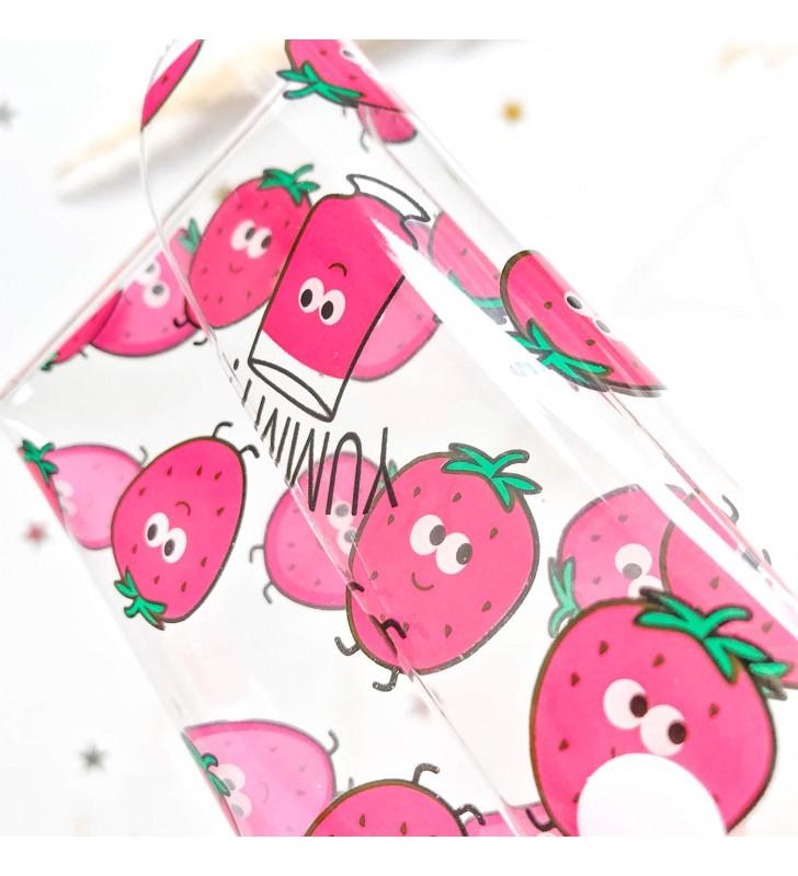 "Пенал ""Slim"" strawberry"