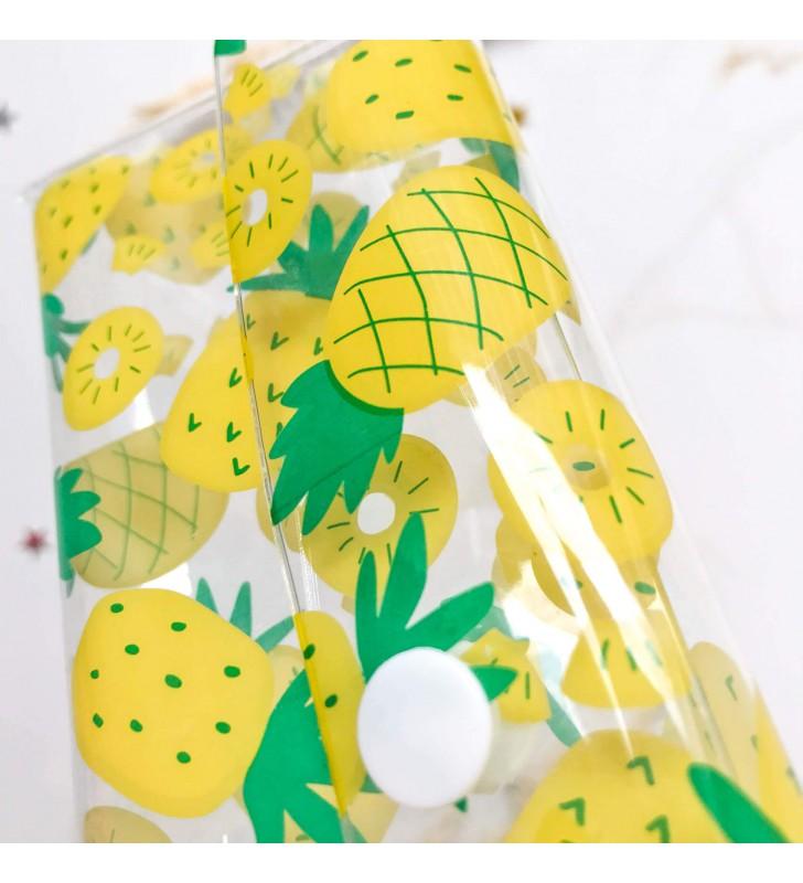 "Пенал ""Slim"" pineapple"
