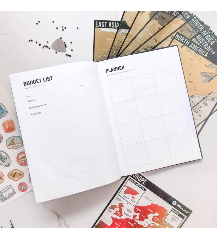 "Тревелбук ""Travel map book"""