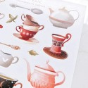 "Наклейки ""Classic teapots and cups"""