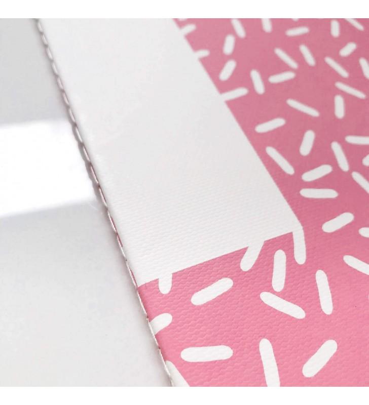 """Блокнот в линию """"Simple geometry"""" pink"""