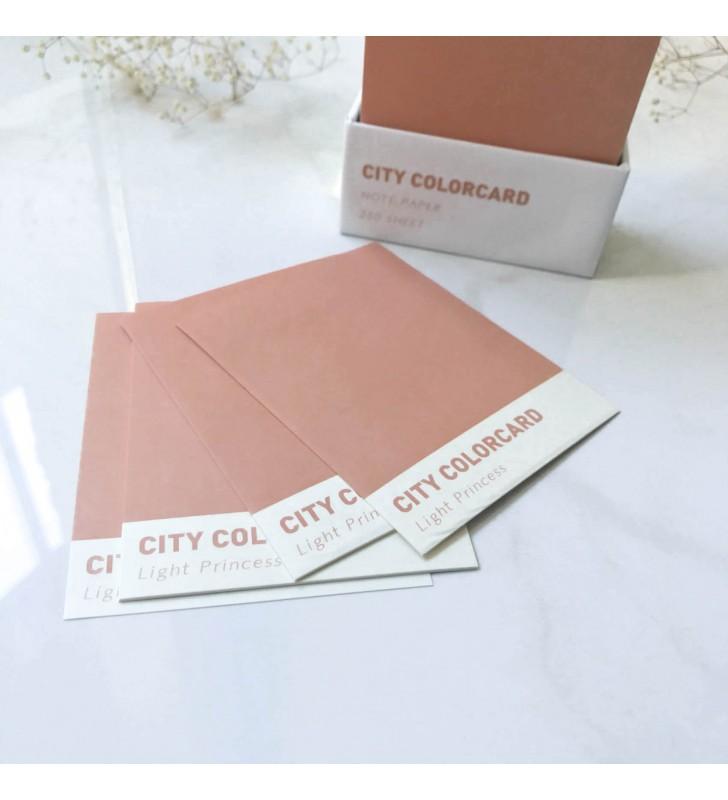 """Листы для заметок """"Colorcard"""""""
