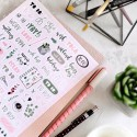 "Наклейки ""Bullet journal stickers"""