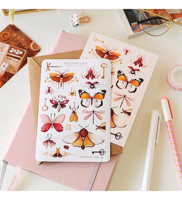 """Наклейки """"Butterflies"""""""