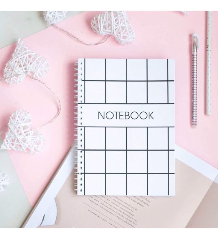 "Блокнот в клеточку ""Notebook white"""