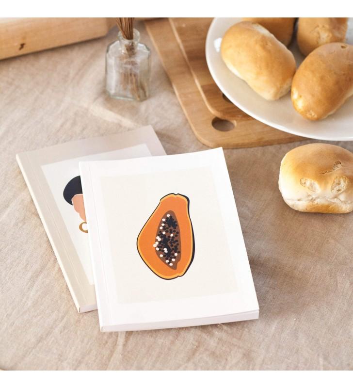 """Блокнот в точку """"Papaya"""""""
